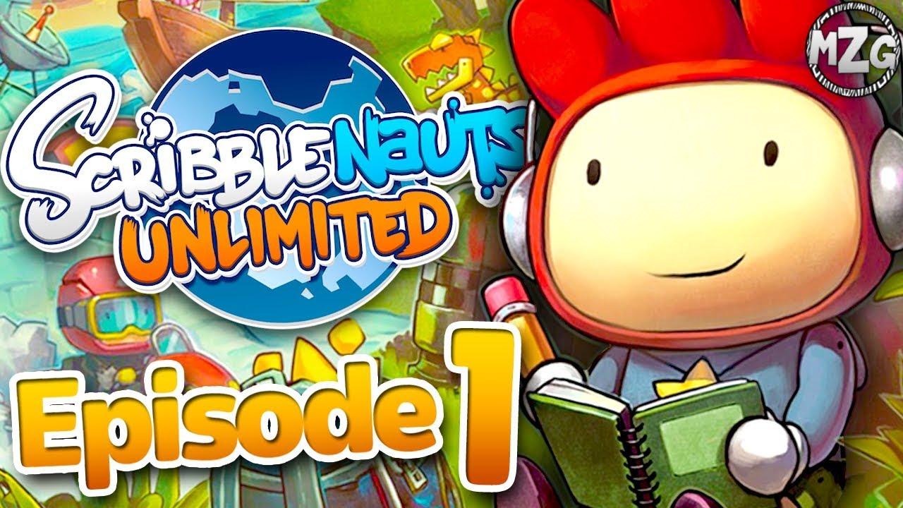 Scribblenauts Unlimited Gameplay Walkthrough - Episode 1 - Maxwell's  Adventure!