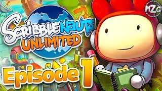 Scribblenauts Unlimited Gameplay Walkthrough - Episode 1 - Maxwell