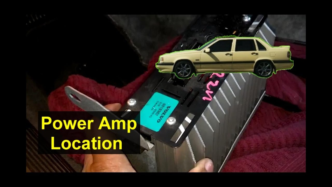 Power Amp Location For The Volvo 850 Auto Inforamtion Series Youtube Fuse Box