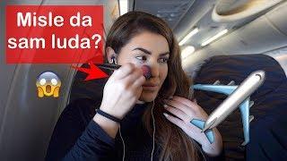 Šminkam se u avionu |Ekonomska klasa