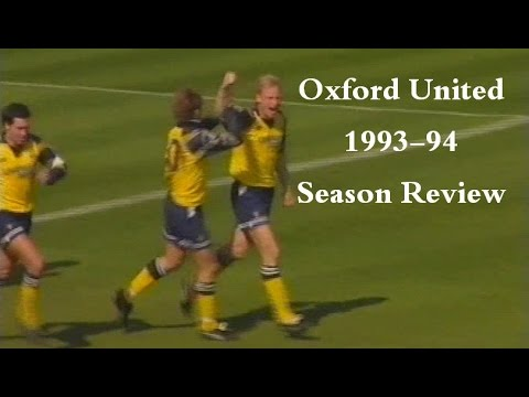 OXFORD UNITED - Official Season Review 1993-94
