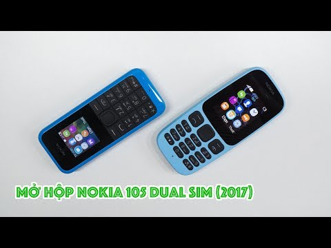 Mở hộp Nokia 105 Dual SIM (2017): hoàn thiện tốt, giá rẻ 359,000đ   Nokia 105 (2017) Unboxing