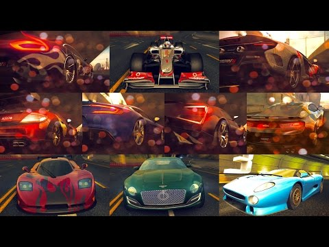 Asphalt 8, Top 10-A-Class cars MAX PRO, Multiplayer French Guiana CUP