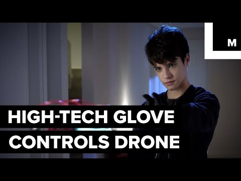This High-Tech Glove Lets You Control a Drone with Your Hand