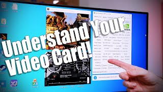 Beginners Guide to understanding Video Cards and Settings