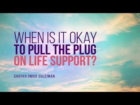 When Is It Okay To Pull The Plug On Life Support? | Shaykh Omar Suleiman | Faith IQ