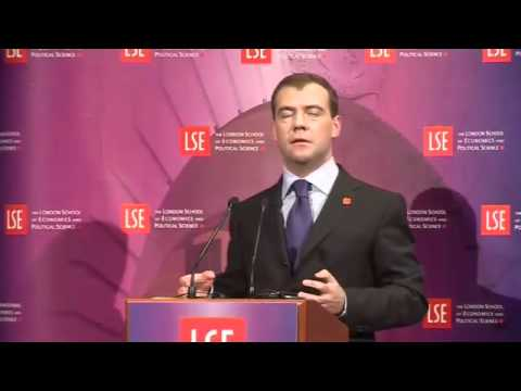 A Lecture by President Dmitry Anatolyevich Medvedev (in Russian)