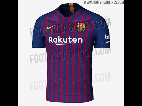 384318580d9eb Camisetas de futbol 2018 2019 - YouTube