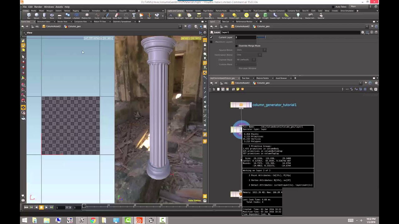 Unreal 05   Setting up multiple UV sets and point colors for