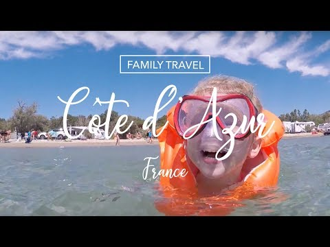 [ FAMILY TRAVEL ] We went to Côte d'Azur, FRANCE 🇫🇷