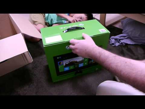 XBOX One Japanese Unboxing 1080p 60fps マイクロソフト日本