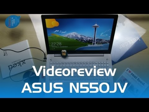 Videotest - Asus Multimedia Notebook N550JV-CN088H (Deutsch)