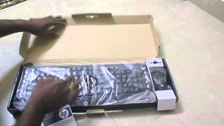 HP Classic Wireless Keyboard + Mouse Unboxing