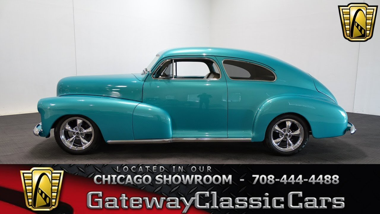 1948 Chevrolet Fleetline Aero Gateway Classic Cars Chicago #1239 ...