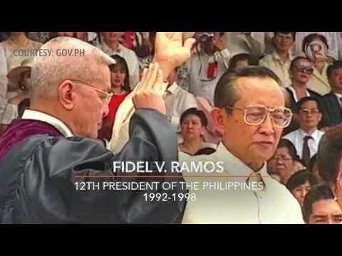 From Aguinaldo to Aquino: Inauguration of the Philippine president