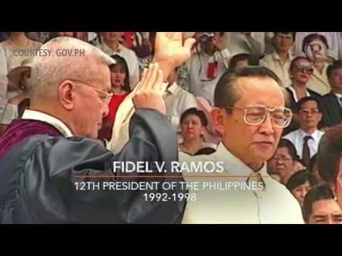 From Aguinaldo to Aquino: Inauguration of the Philippine president