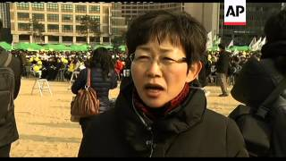 Rally to protest against  nuclear power on anniversary of Fukushima disaster