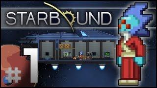 Starbound #1 (2015) - Upbeat Giraffe Update