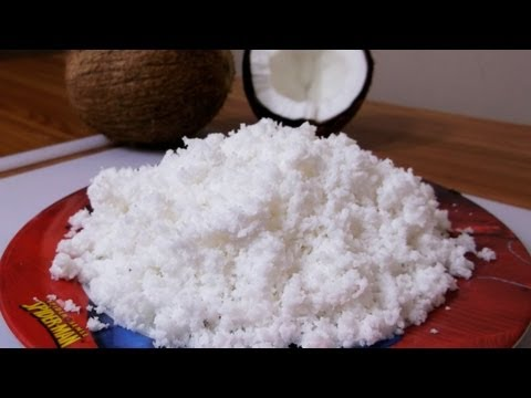How to Make Freshly Grated Coconut