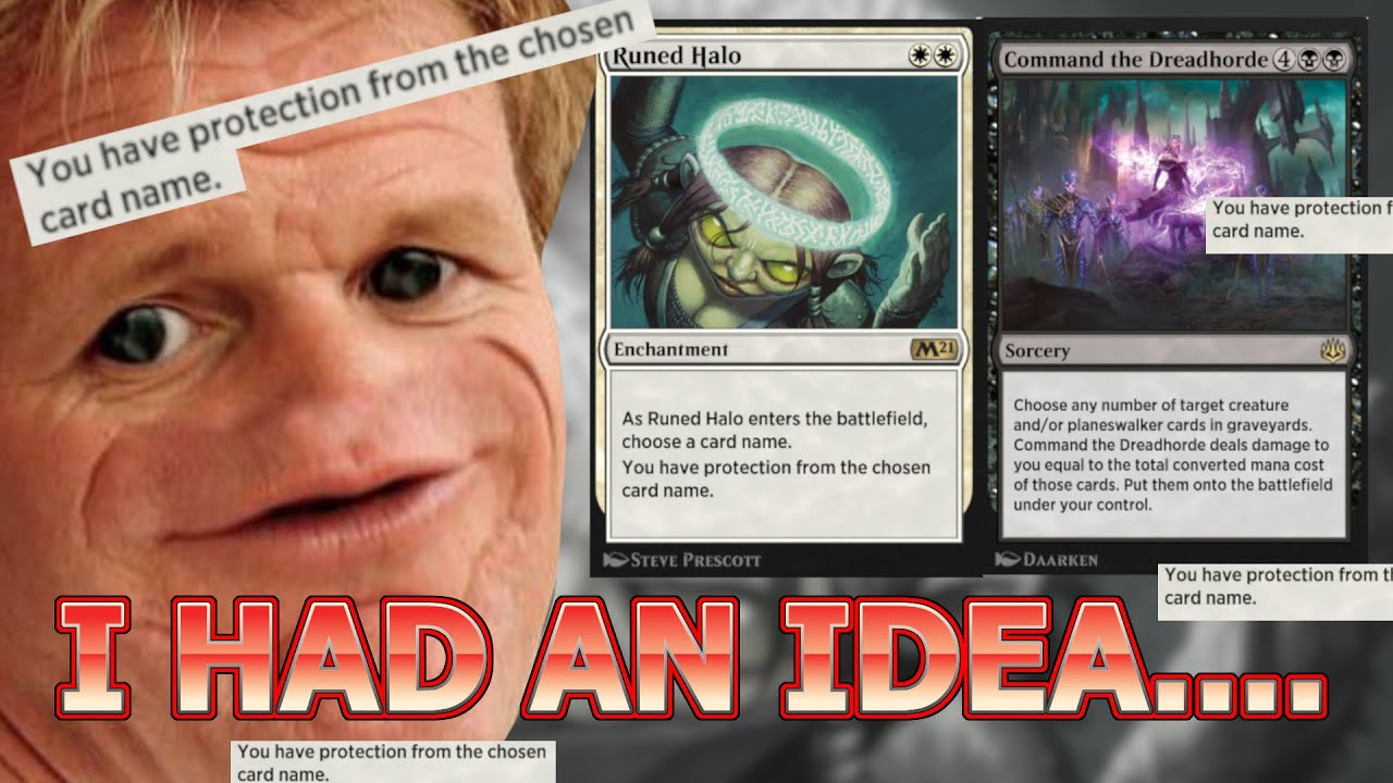 AND IT HAD TO BE DONE! Dreadhorde Halo Standard MTG Arena