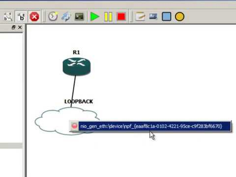Adding your own PC to GNS3 with MS Loopback
