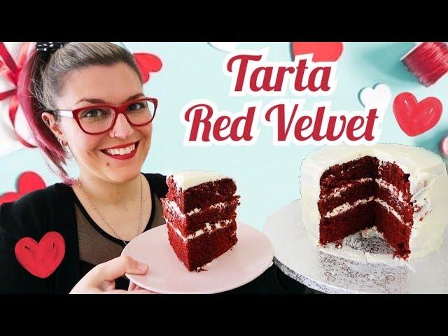 TARTA RED VELVET Fácil *TARTA PARA SAN VALENTIN Fácil de Hacer* RECETAS MYCOOK