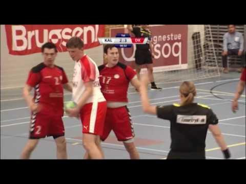 Håndbold - Grønland vs Danmark 1.halv 15.06.2017