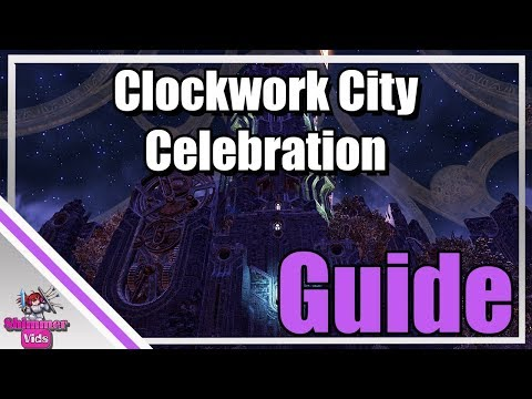 ESO: Clockwork City Celebration Event Guide!
