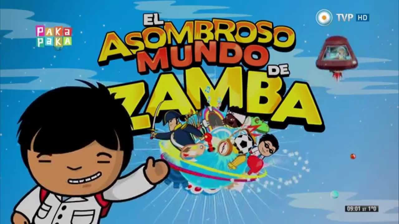 El asombroso mundo de zamba apertura youtube for El asombroso espectaculo zamba