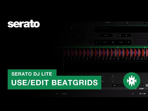 How to Use and Edit Beatgrids in Serato DJ Lite