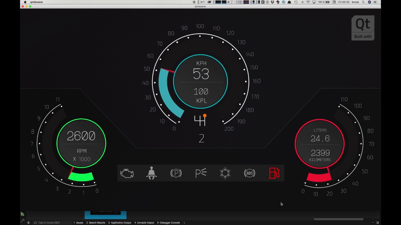 Learn To Use Qt Design Studio By Building An Instrument Cluster For Your Car Hmi Part 5
