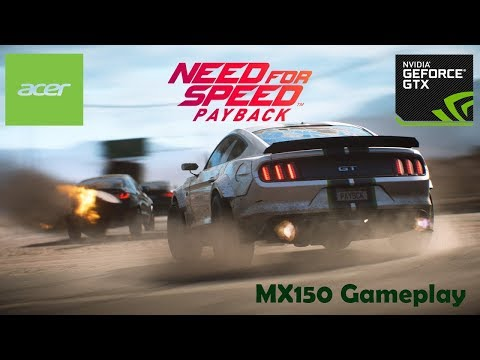 need-for-speed™-payback-gameplay-on-mx150-[acer-swift-3-sf-315-51g]