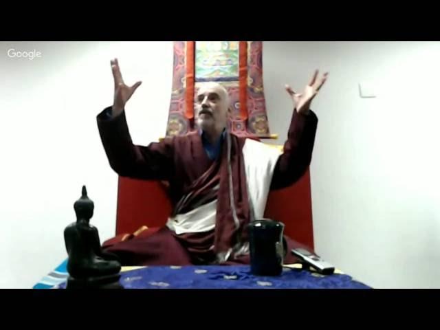 Além das identidades 3   Lama Padma Samten (junho/2016, SP)