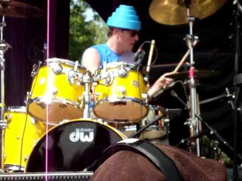 """Josh Freese with DEVO - """"Whip It""""  live @ Sound of Music Festival June 19th, 2011"""