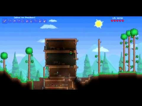 Terraria Tutorial ep.5 How to spawn NPCs (Non player Characters)