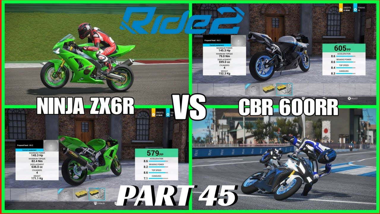 ride 2 ps4 pro gameplay part 45 cbr 600rr vs ninja zx6r. Black Bedroom Furniture Sets. Home Design Ideas