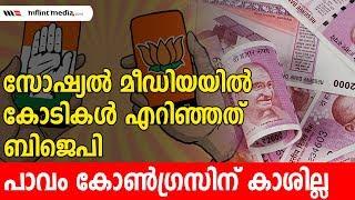 ജയിക്കാൻ കണക്കില്ലാതെ പണമൊഴുക്കി ബിജെപി  Social Media BJP