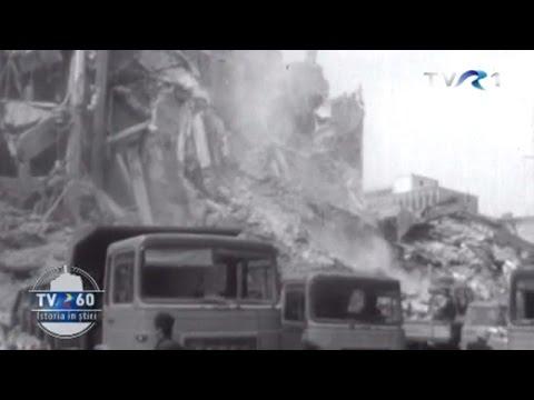 TVR 60: Cutremurul din 1977 - imagini din Arhiva TVR