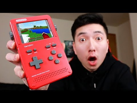 PLAYING MINECRAFT ON A GAMEBOY?!