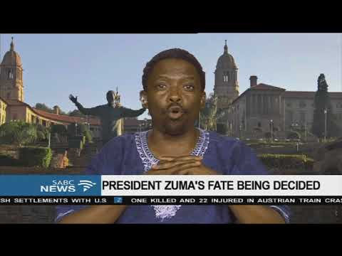 Discussion: President Zuma's fate being decided 2