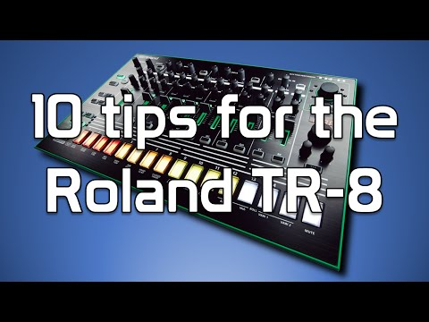 Roland TR-8 tips - Creating Tracks