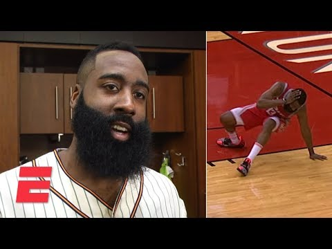 James Harden on Giannis drilling him in head with pass: 'S--- hurt' | NBA Sound