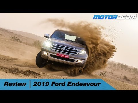 2019 Ford Endeavour Review - Best SUV Gets Better | MotorBeam