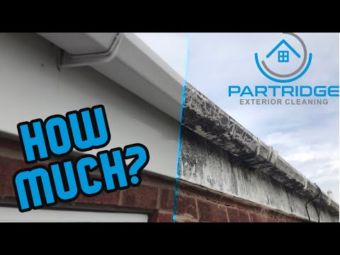 HOW TO QUOTE A GUTTER CLEANING JOB! // Partridge Exterior Cleaning