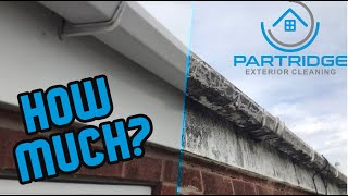 HOW TO QUOTE A GUṪTER CLEANING JOB! // Partridge Exterior Cleaning