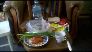 Похмельный завтрак
