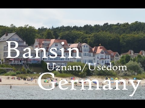 Bansin in Uznam/Usedom (Germany)