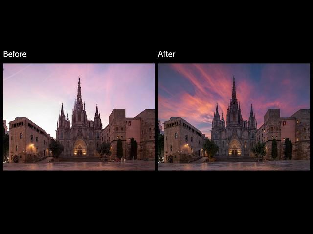 Cathedral de Barcelona workflow timelapse XIX