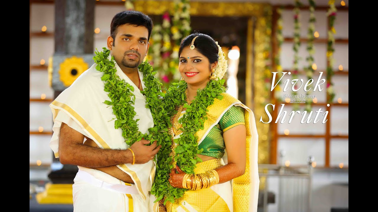 Kerala Wedding Photography Videos: A Classical Kerala Hindu Wedding I VIVEK&SHRUTHI