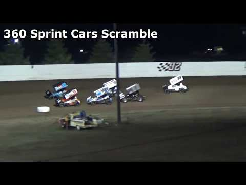 Grays Harbor Raceway, September 30, 2017, 360 Sprint Car Scramble